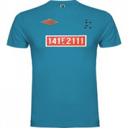 Camiseta 1-4-1 AZUL