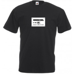 Camiseta Henschel Negra