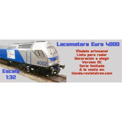 Locomotora EURO 4000 escala 1:32
